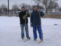 Pond Hockey Weather