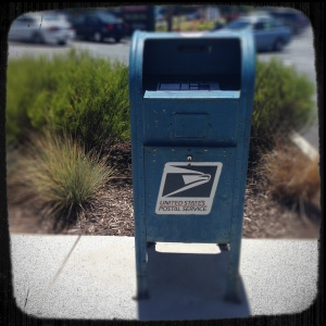 If you want your characters to go anywhere, put a stamp on 'em. (Mailbox by eternalDomnation)