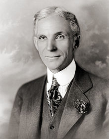 Senior Ford in 1919 (copyride wikipedia)