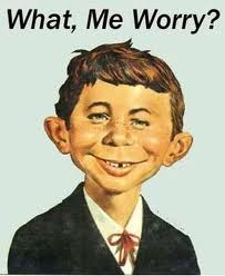 Not that I'm going to worry about happiness (image: Norman Mingo, MAD Magazine)