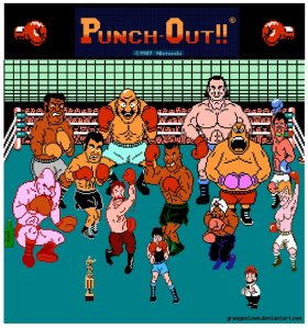 Mike Tyson's Punch Out (copyright grungeclown.devianart.com)